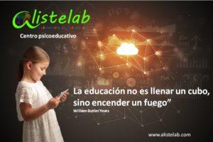 Alistelab. La educaición es...