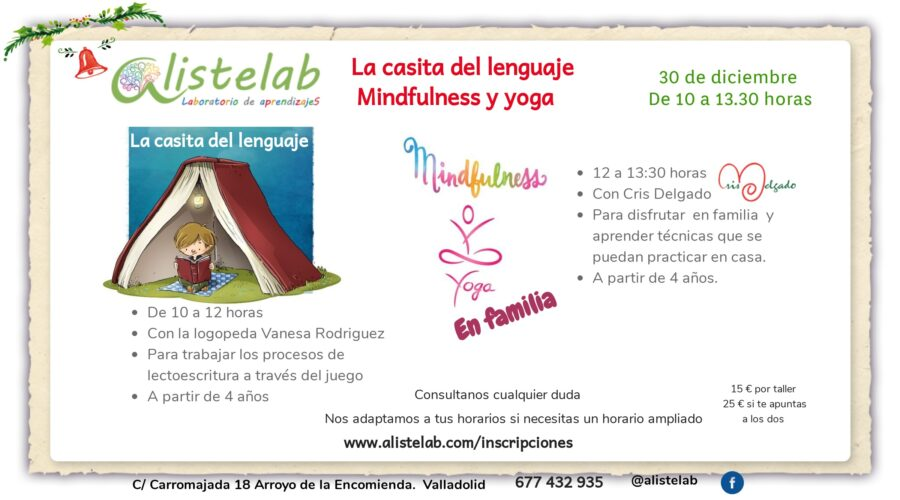 Lectoescritura y mindfulness