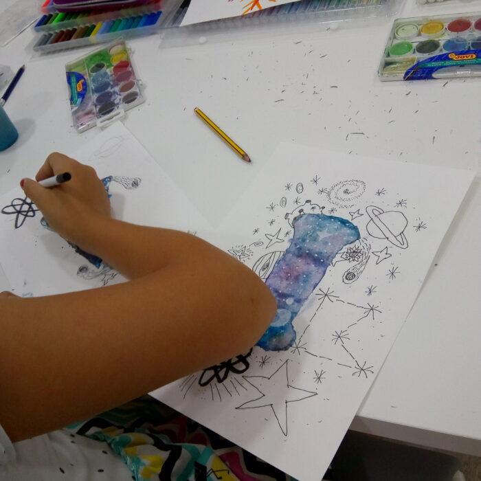 Acuarela y Lettering