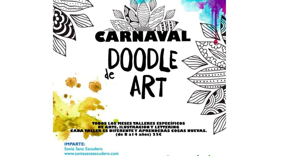 Taller de Dibujo en Carnaval. Doodle Art